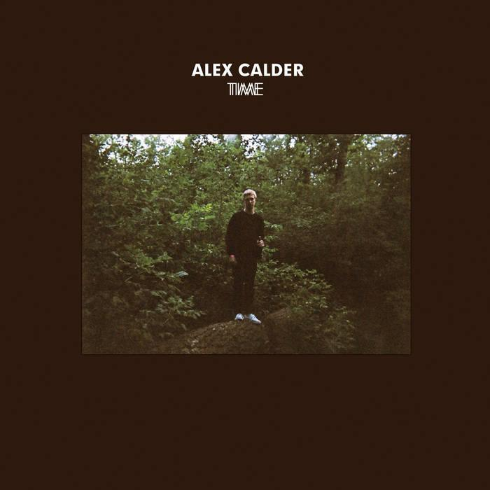 front cover of Time EP by Alex Calder