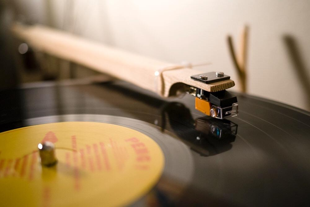 photo of DIY tonearm