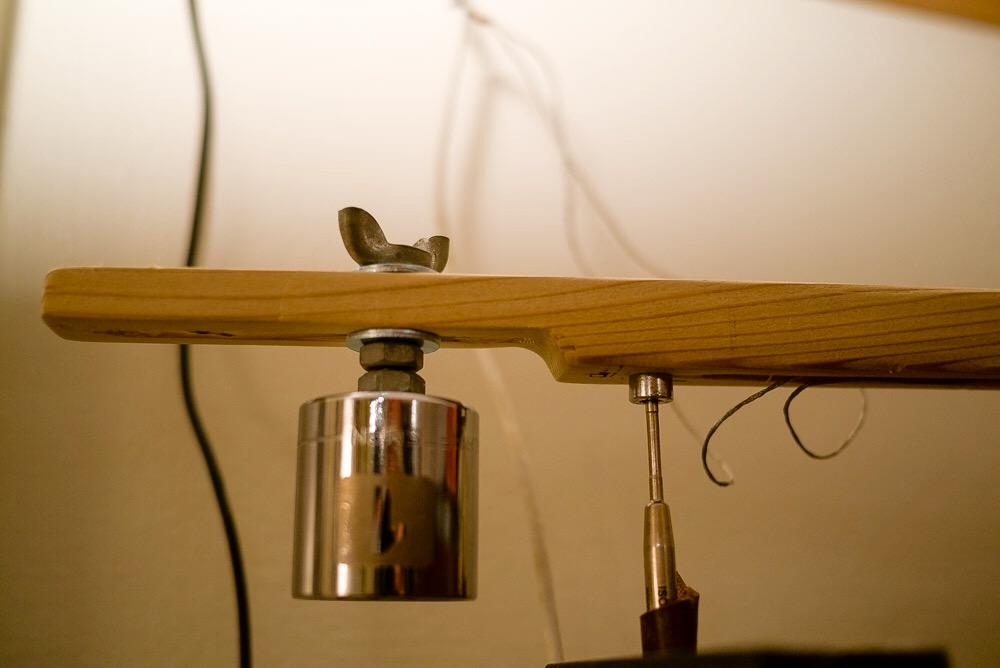 photo of DIY tonearm