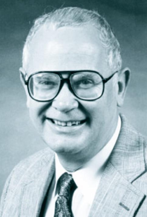 photo of Carl B. Estes, courtesy of the School of Industrial Engineering and Management, Oklahoma State University