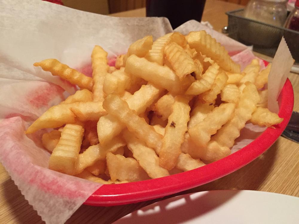 photo of fries from Mary Angela's Pizza