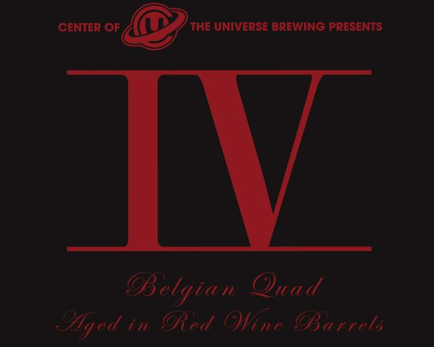 logo of Center of the Universe IV Quad beer