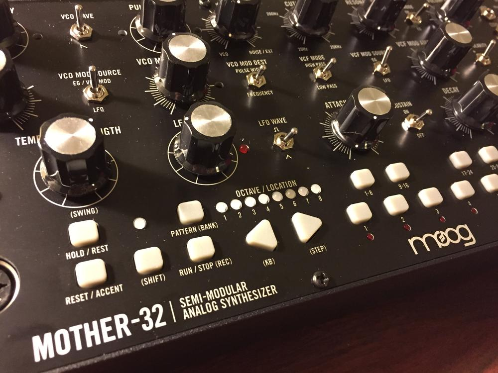 photo of Moog Mother-32 synthesizer