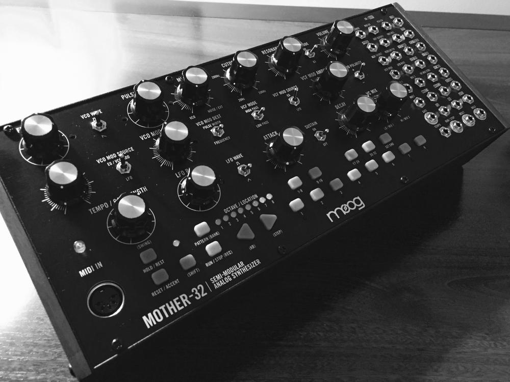 photo of Moog Mother-32 synth