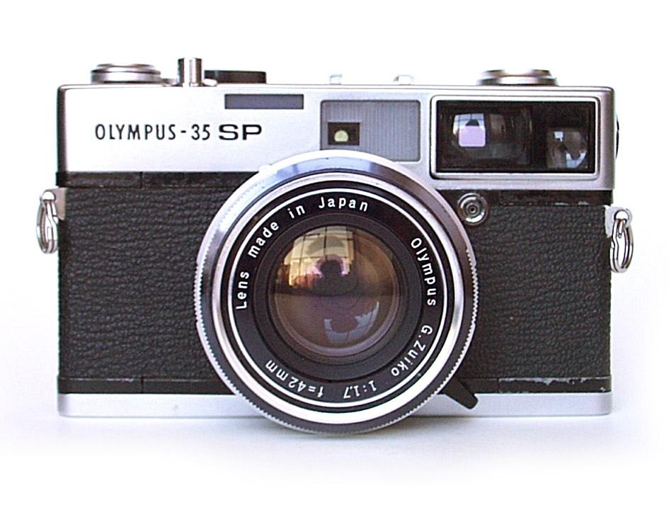 photo of Olympus 35 SP camera